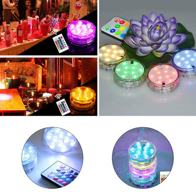 Swimming Pool Light Remote Control Submersible Lights Floating Underwater Light