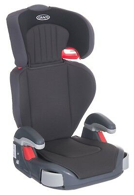 New Graco Junior Maxi Car Seat Group 2/3 Midnight Black 4-12 Years Booster Seat