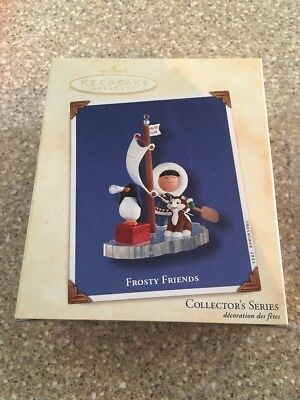 HALLMARK Ornament 2003 FROSTY FRIENDS # 24 IN SERIES