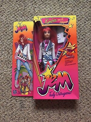 Vintage 1986 Jem And The Holograms Doll Kimber Hasbro Dutch Edition Rare