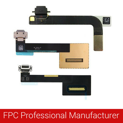 For iPad USB Charging Port Dock Connector Flex Cable Replacement Pro/Air/Mini EV