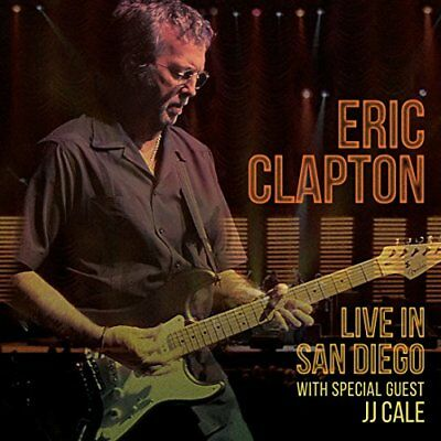 Eric Clapton - Live in San Diego (with Special Guest JJ Cale) [CD]
