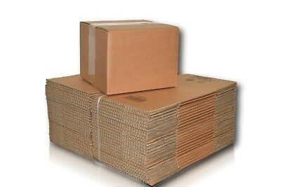 Pack Single Wall Post Small Parcel Postage Cardboard Packing Boxes Various Sizes