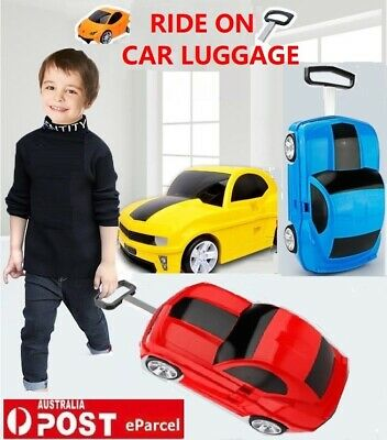 New Ride On Suitcase Toy Box Luggage Trolley Car Bag Box Case For Children Kids