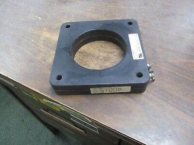 Square D Current Transformer 170R-401 Ratio 400:5A 600V 25-400Hz 10KV BIL Used