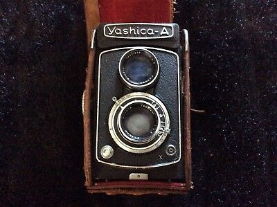 Yashica Model A Medium Format Tlr Camera