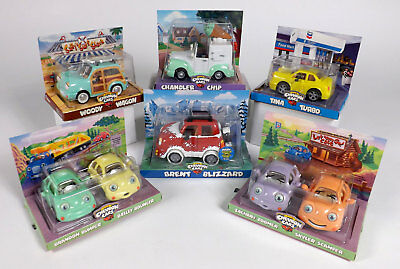Chevron Cars - 6 Assorted Collectibles  **MINT**