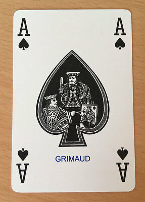 Grimaud Playing Cards in plain white carton (bulk-buy available) - left handed