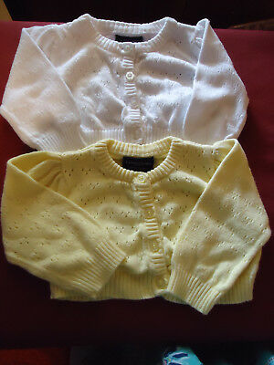 Infant Sweaters - Lot of 2 - 0 to 3 months