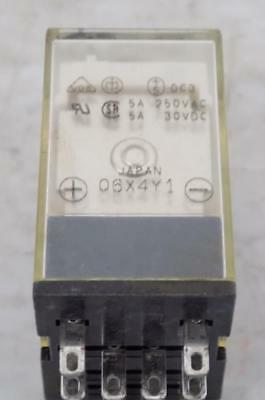 Omron 24Vdc 5A 250Vac Relay My4N Lot Of 3