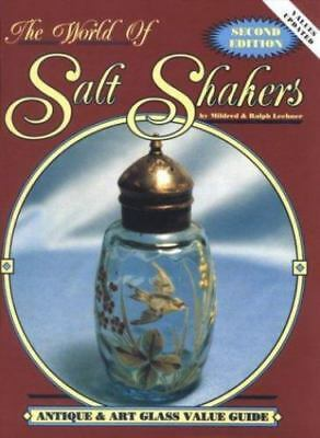The World of Salt Shakers: Antique & Art Glass Value Guide, Vol. 2,-ExLibrary