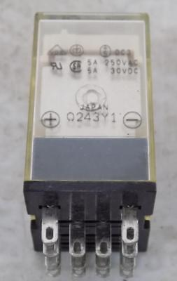 Omron 24Vdc 5A 250Vac Relay My4N Lot Of 2