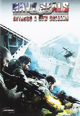 FILM DVD NAVY SEALS - ATTACCO A NEW ORLEANS (2015) Azione
