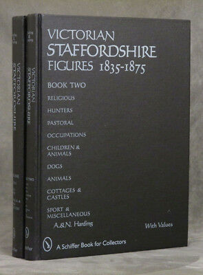 Harding, A / Victorian Staffordshire Figures 1835-1875 2 vols-- Book One 1st ed