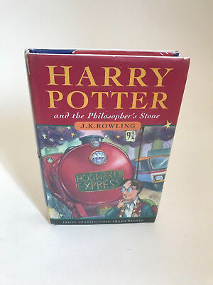Harry Potter and The Philosophers Stone 1st edition UK 30th printing JK Rowling