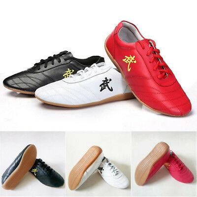 Chinese Wushu Kung Fu Tai Chi wing chun Martial Arts Cow leather Shoes Sneaker