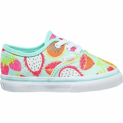 6257f83b49f VANS AUTHENTIC GLITTER Fruits Island Paradise Toddler Shoes 7.5 ...