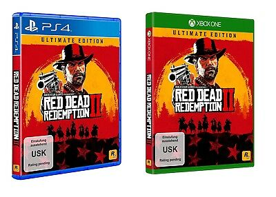RDR2 Red Dead Redemption 2 Ultimate Edition PS4 / Xbox One Neu & Ovp