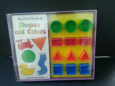 My First Book of Shapes & Colors - Ian Winton Rare Vintage 1995 Teeney Books NEW