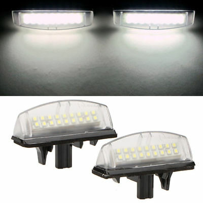 LED License Plate Number Lights Car Lamp For Toyota Camry Avensis Verso Prius