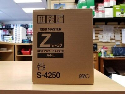 New RISO Master Rolls Z-Type 30 A4-L 2-Pack S-4250 (K491469)