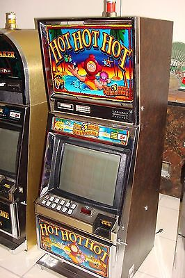 Bally Hot Hot Hot Video Slot  Machine Coinless  Casino Fun For Your Home