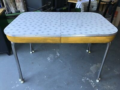 Vintage Formica & Chrome Table