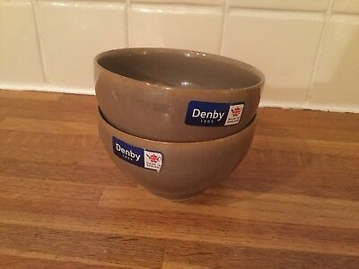 Denby - Truffle - Small Bowl x 2 - BRAND NEW