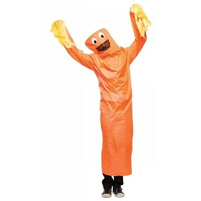 Wacky Waving Inflatable Tube Man Costume Adult Halloween Fancy Dress
