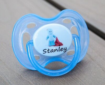 BO ALL TEATS /& SIZES AVENT TOMMEE TIPPEE MAM PERSONALISED DUMMY