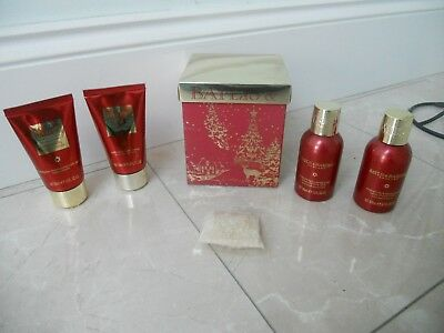Baylis & Harding Boxed Gift Set - Midnight Fig & Pomegranate - Five Pieces