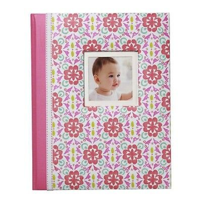 New NWT Carters Gibson Girl Pretty Patterns Floral Baby Memory First Record Book