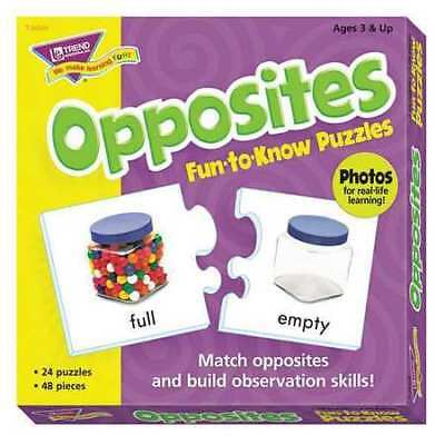 TREND T36004 Fun to Know Puzzles,Opposites