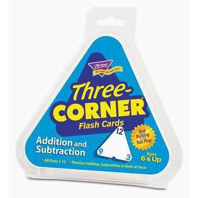 TREND T1670 Addition/Subtraction Flash Cards,PK48