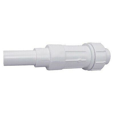 "JONES STEPHENS E09200 2"" IPS PVC Expansion Coupling, 10-1/2""L"