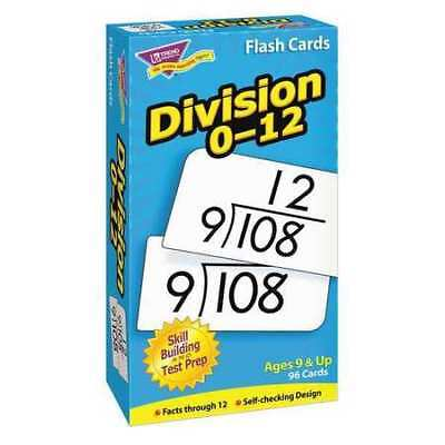 TREND T53106 Skill Drill FlashCards,3x6,Division,PK91