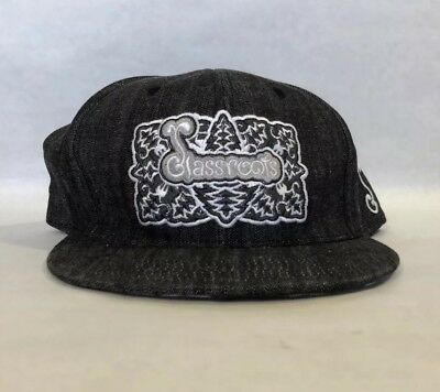 3673533c 4 Glassblowing hats Grassroots Fitted Cap Woven 7 5/8 snapback Alex k atomik