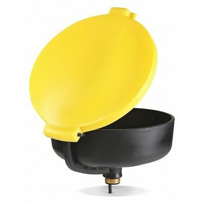 """Drum Funnel,Yellow,11-1/2"""" H,17-3/4"""" dia NEW PIG DRM138-YW"""