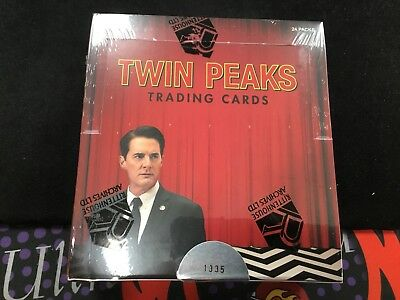 1 FACTORY SEALED HOBBY BOX 2018 Ritten House Scifihobby TWIN PEAKS Trading Cards