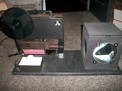 DUAL 8 TELECINE Film Transfer Station + Canon ZR960 MiniDV Camera