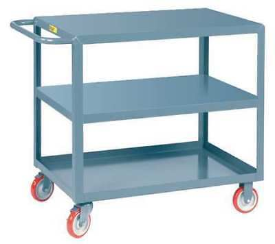 Utility Cart,Steel,42 Lx24 W,1200 lb. LITTLE GIANT 3LG2436BRK