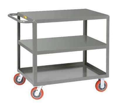 Welded Utility Cart,2000 lb.,Steel LITTLE GIANT 3LG24366PY