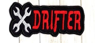 Drift Automobile Racing Embroidered Iron On To Sew On Patch