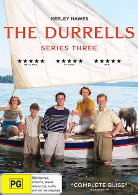 Durrells : Series 3, The (DVD, 2018) (Region 4) New Release