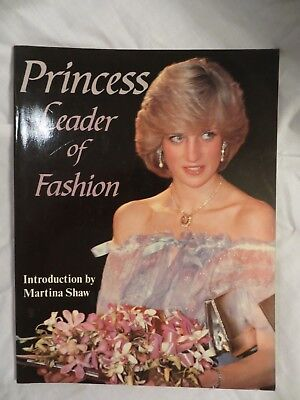Vintage glossy magazine Princess Diana Leader of Fashion UK 1983