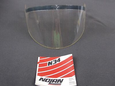 Motorcycle Helmet Clear Face Shield Face Mask Vison Screen Nolan N34