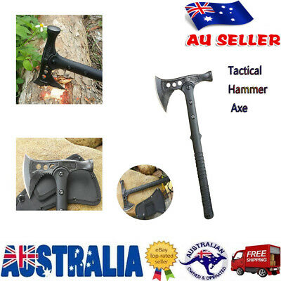 Multi-functional Axe with Hammerhead Outdoor Survival Tactical Emergency Hatchet