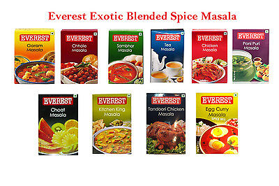 Blended Spices EVEREST Masala 100g, Indian Cooking - Direct From India Free Ship