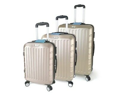 3 Luggage Suitcase Trolley Set ABS Carry On Bag Travel Hard Case Lightweight