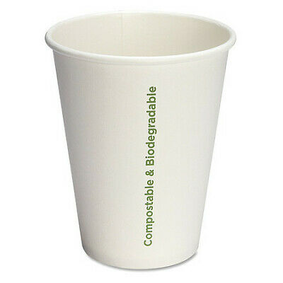 Eco-Friendly Paper Cups,12 Fl Oz,PK1000 GENUINE JOE GJO10215CT